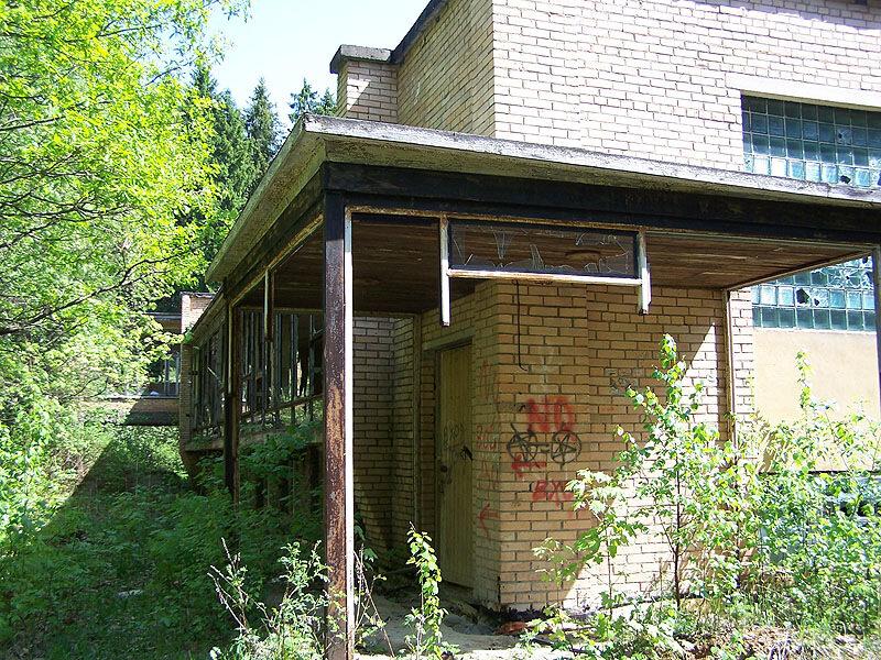 Бывшая столовая пансионата Жемчужина