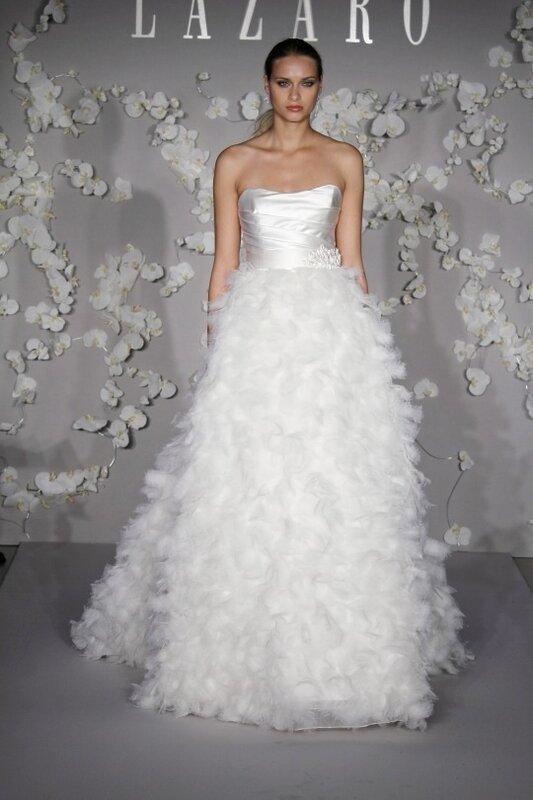 Свадебное платья юбка перья