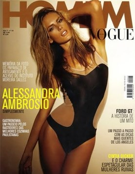 Алессандра Амбросио / Alessandra Ambrosio by Jannis Tsipoulanis