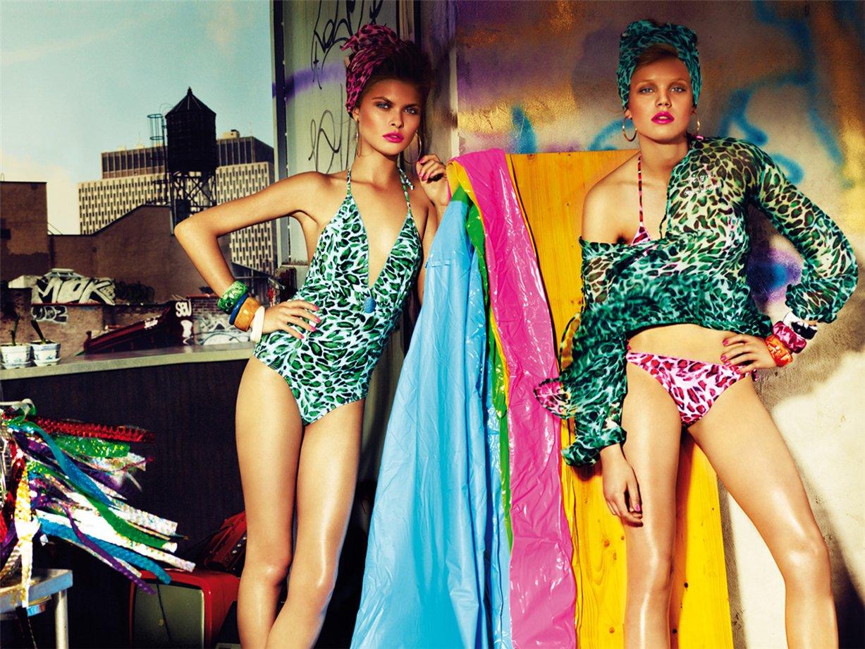 Анна Руденко / Anna Rudenko - Blugirl Beachwear - Primavera Estate 2010