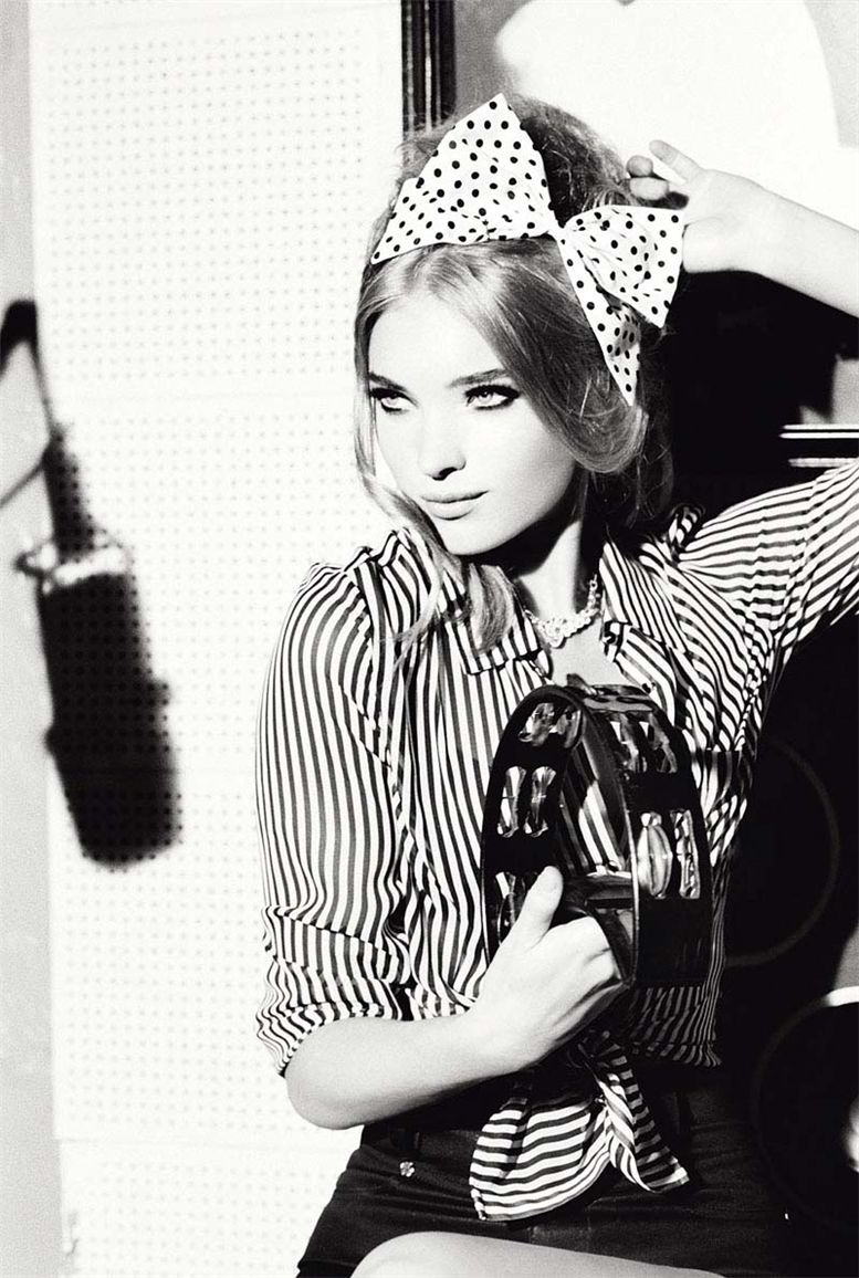 Алисса Миллер / Alyssa Miller and Elsa Hosk by Ellen von Unwerth for Guess fall 2010