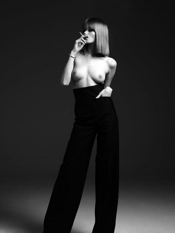 Известные модели fashion