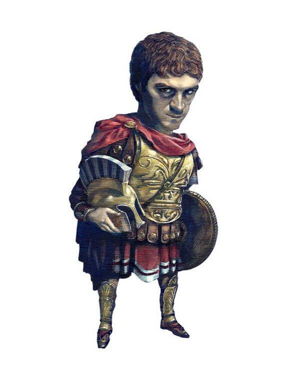Alexander the Great.cartoonist  MarkSummers.