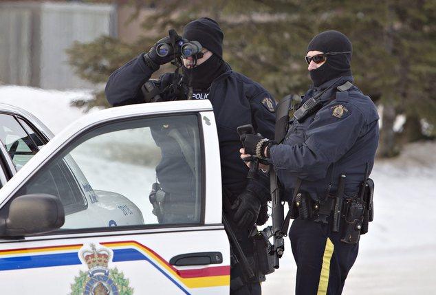 Canada Mounties Shot