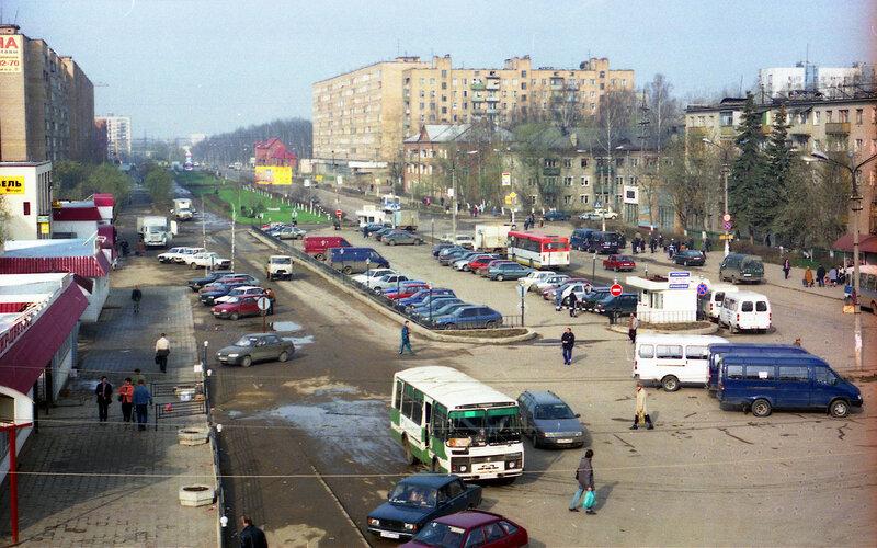 Лобня, привокзальная площадь, фото 2001г..jpg