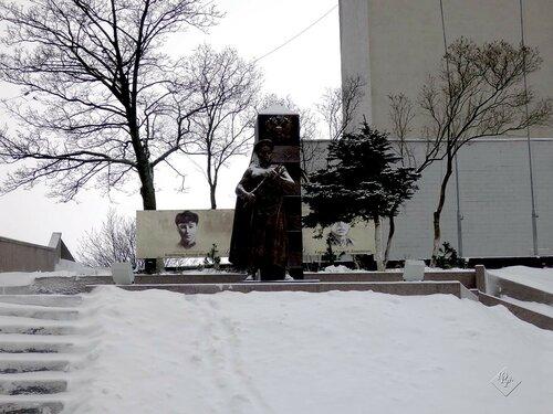 """Памятник """"Пограничникам Выборгских  рубежей"""""""