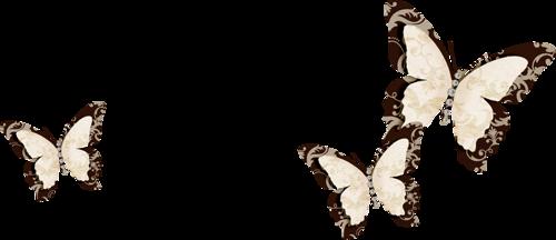 украшения-бабочки