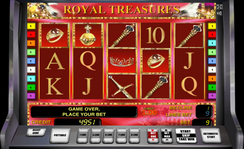 Royal Treasures игровой автомат