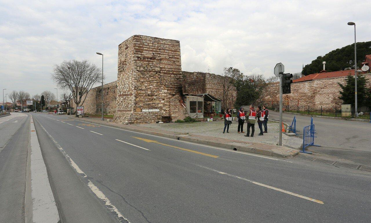Istanbul. The walls of Marmara (Marmara Kulesi)
