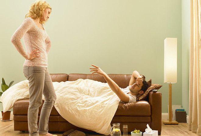 Умирая от простуды: 8 особенностей болезни у мужчин (1 фото)