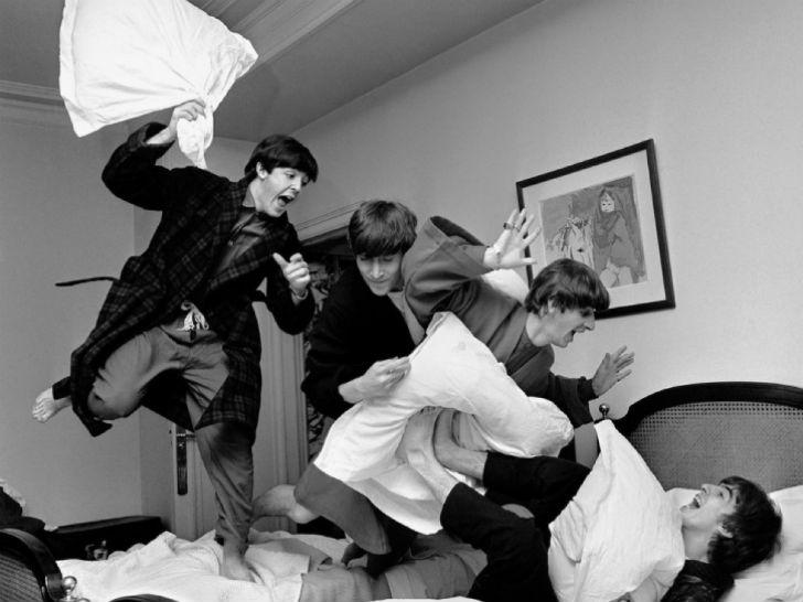 Музыканты The Beatles умели веселиться.