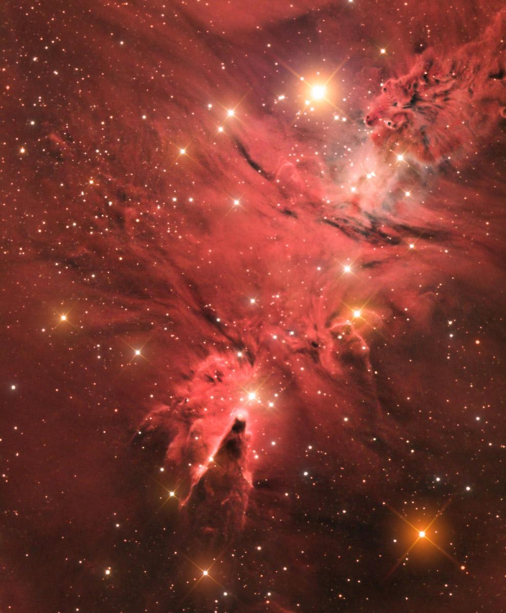 20. Категория «Роботизированный снимок». Встреча кометы и планетарной туманности. (Фото Geral