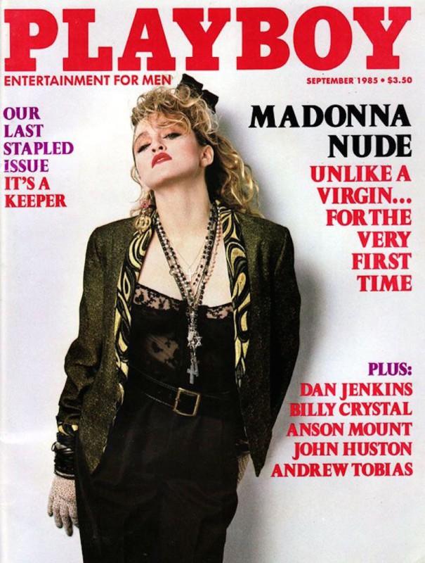 1985 год.    Мадонна появлялась на обложках Playboy в десяти странах, а в Испании даже нескольк