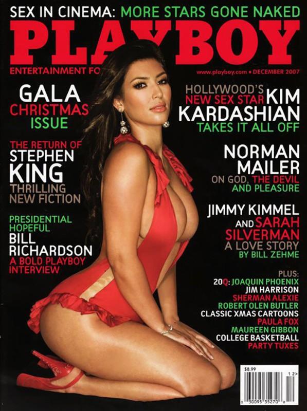 2007 год.   Журнал с Ким Кардашьян на обложке вышел вскоре после премьеры реалити-шоу «Семейств