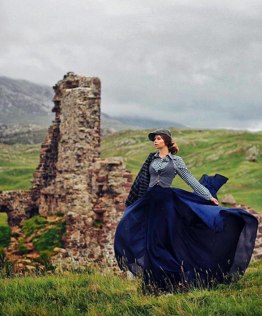 Замок Адврек, Шотландия.