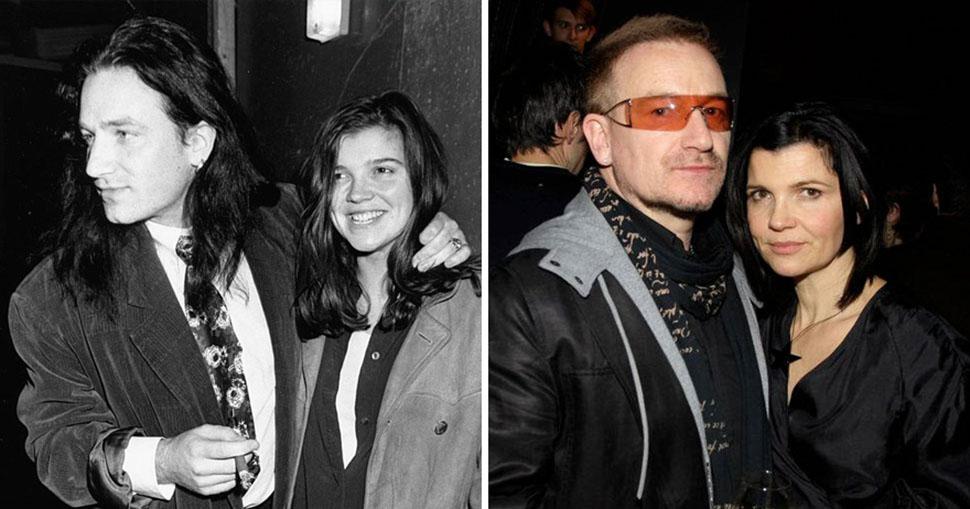 Боно и Элисон Хьюсон, вместе 34 года.