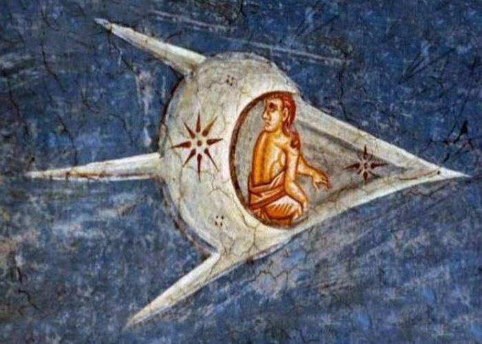 9. Демоны с лицами на промежности   Средневековые художники любили рисо