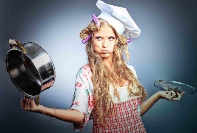 Я готовлю с 13 лет: меня растила только мама, и большую часть времени она была на работе, так что ес