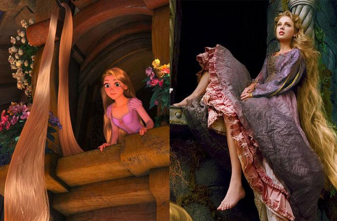 Рапунцель — Тейлор Свифт    Одной из последних под брендом Walt Disney Pictures