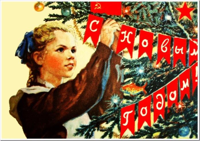 Советская елка никоим образом не должна была ассоциироваться с Рождеством. Украшения отражали дух вр