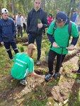 16 сентября в Озёрском благочинии прошла акция Наш лес. Посади своё дерево! В акции приняла участие молодёжная волонтёрская экологическая дружина имени святого мученика Трифона