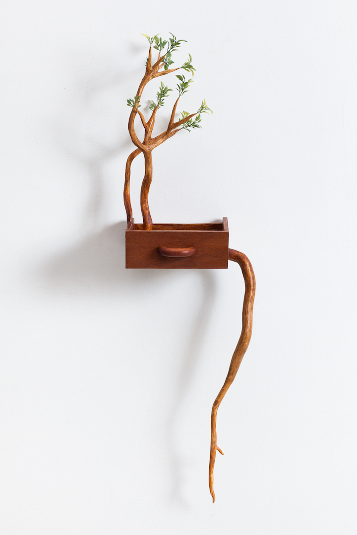 Playful Wooden Sculptures by Camille Kachani
