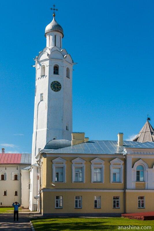 Часозвоня, Великий Новгород, Новгородский кремль