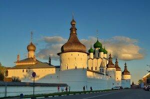 Купола Ростовского Кремля