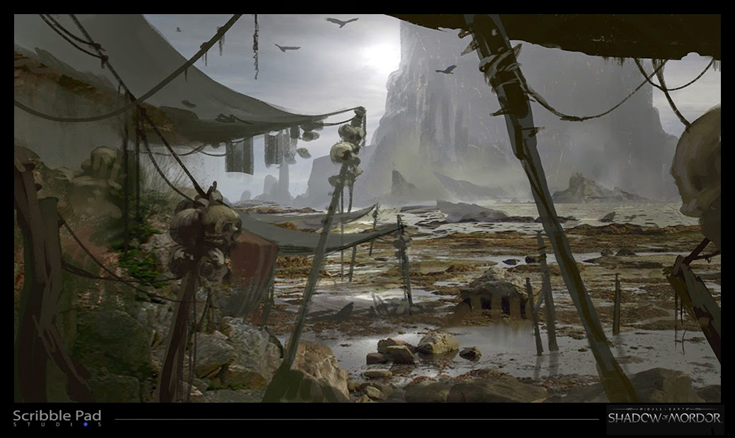 Middle-earth: Shadow of Mordor Concept Art by James Paick