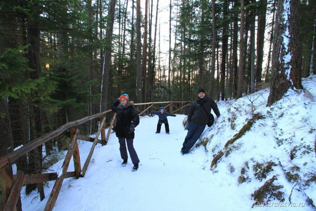 Словакия зимой, фото