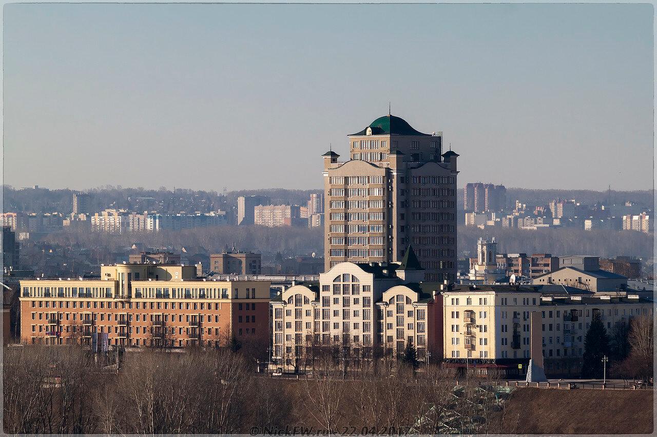 ЖК Томский причал и гостиница Томь [© NickFW - 22.04.2017]