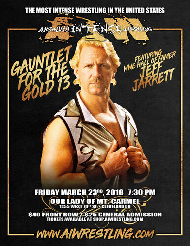 Post image of AIW Gauntlet for the Gold 13