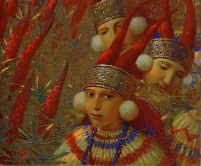 Андрей Ремнёв. Неуловимо похожи на иконы.