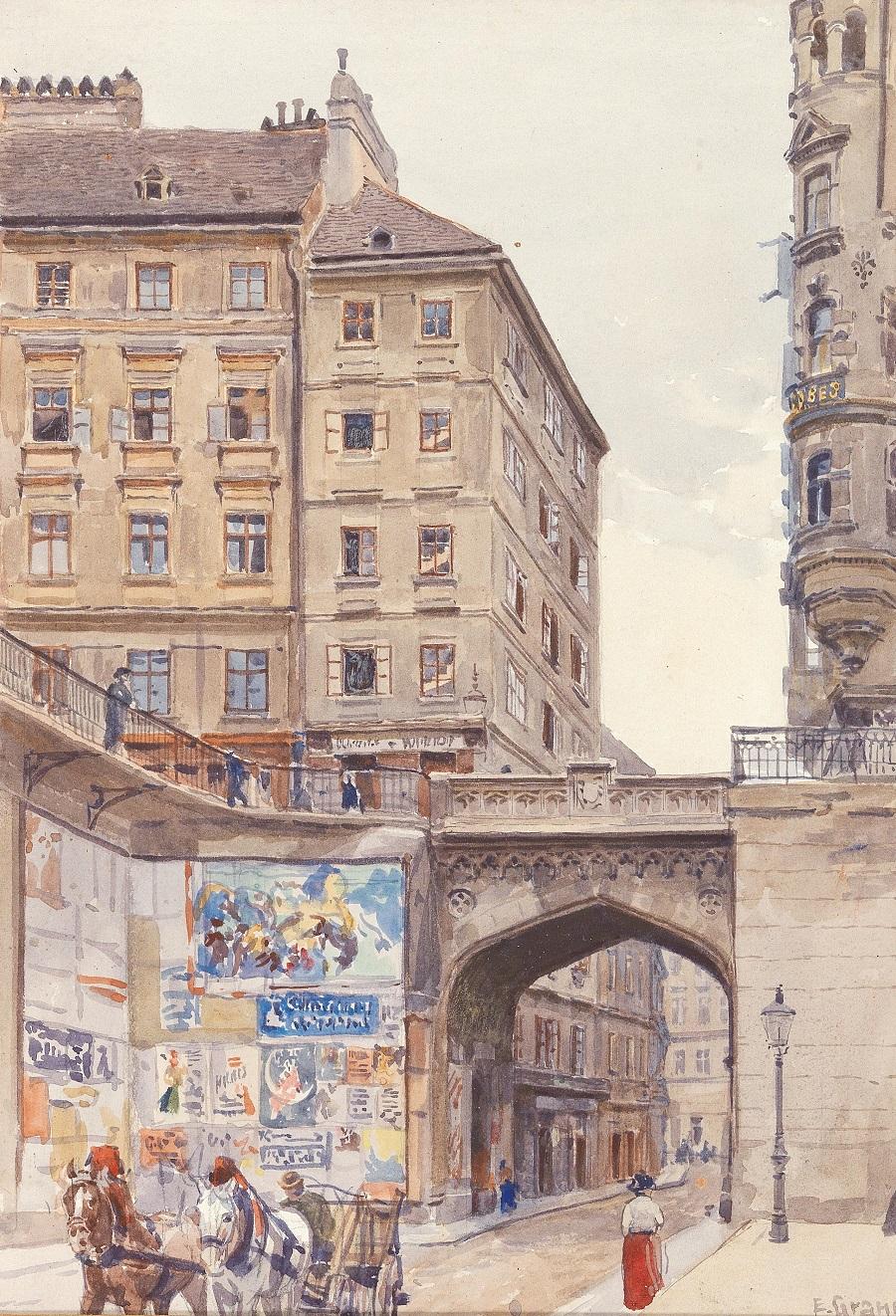 Tiefe Graben in Vienna.