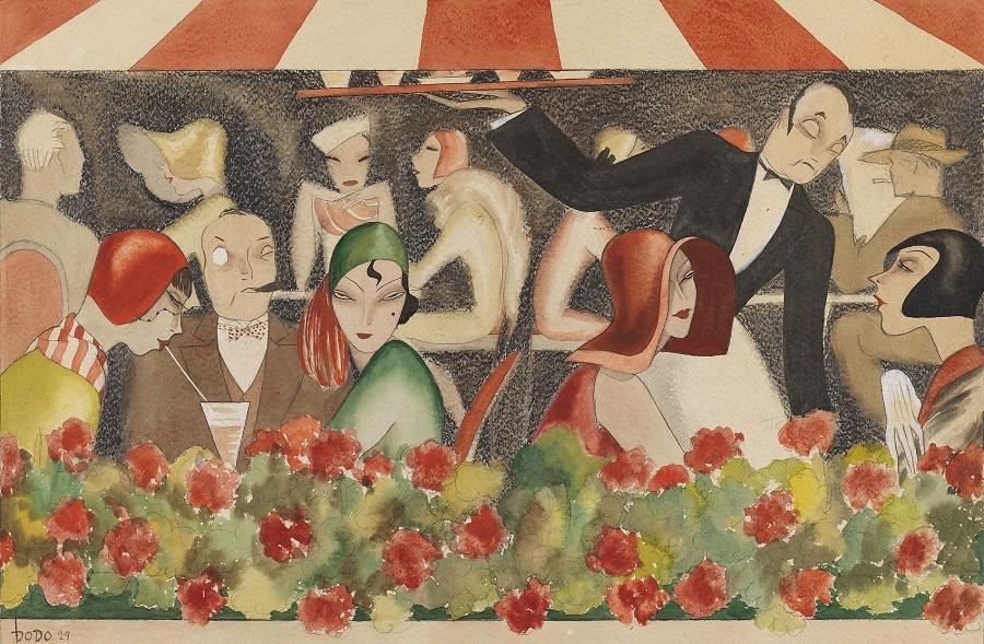 1929 Свадьба на крыше сада (Wedding on the roof garden)