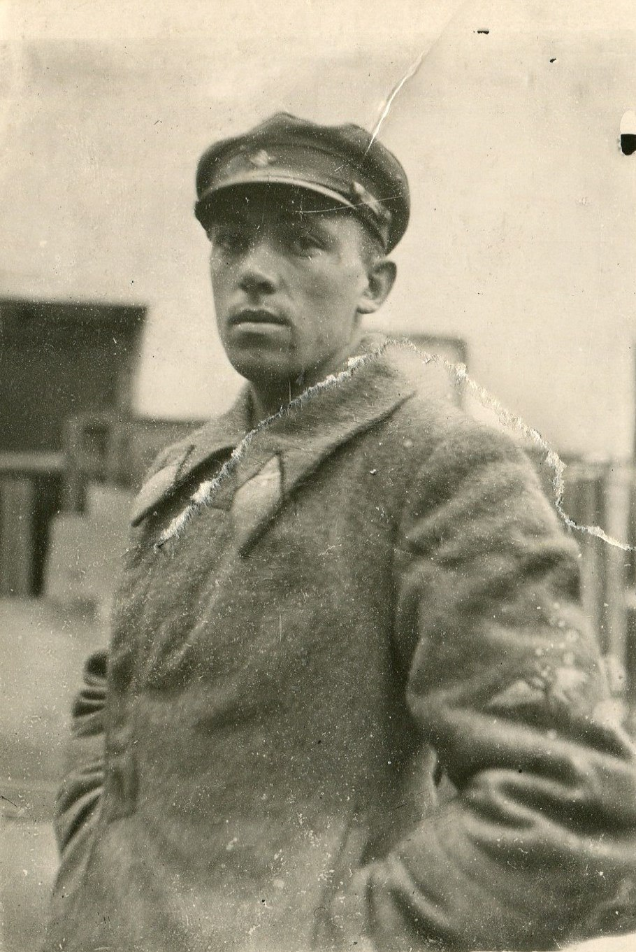 1935. Н. Тургин - инструктор-летчик
