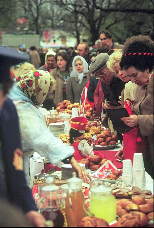 Торговцы едой