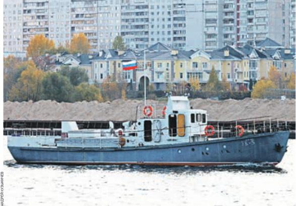 катер УК-5 в газете Вечерняя Москва