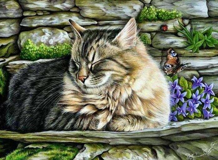 Коты и кошки от Ирины Гармашовой