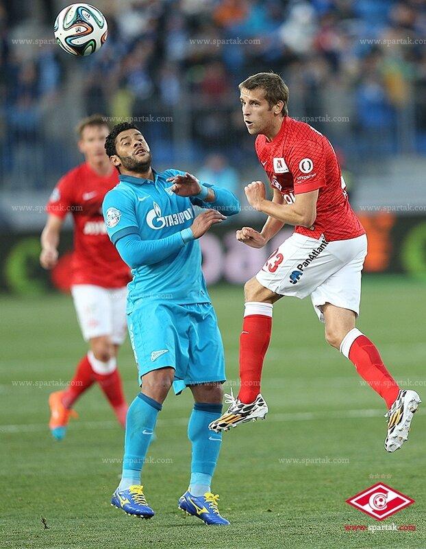 «Зенит» vs «Спартак» 0:0 Премьер-лига 2014-2015 (Фото)