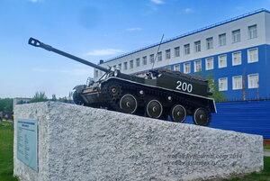 АСУ-57, БТВТ в 242 УЦ ВДВ, Омск