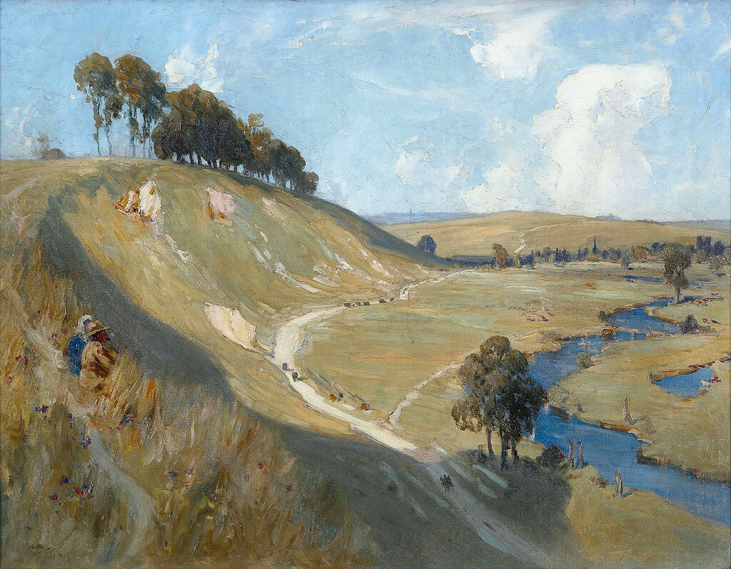 Albert Henry Fullwood - Valley of the Somme, 1918.jpeg