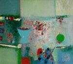 """""""Голубое утро"""", холст, масло 70x80 2010"""