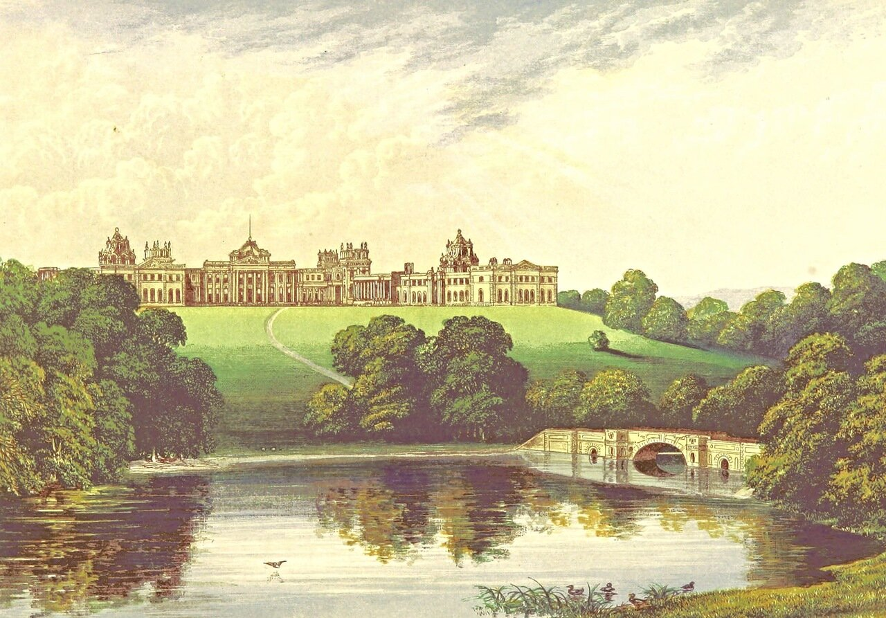+ Blenheim, Oxfordshire Francis Orpen Morris 1867Фрэнсис Орпен Моррис.jpg