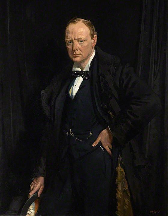 Любимый портрет Черчилля Уильям ОРПЕН Ч. сказал на этом портрете изображен не человек, а чел душа..jpg