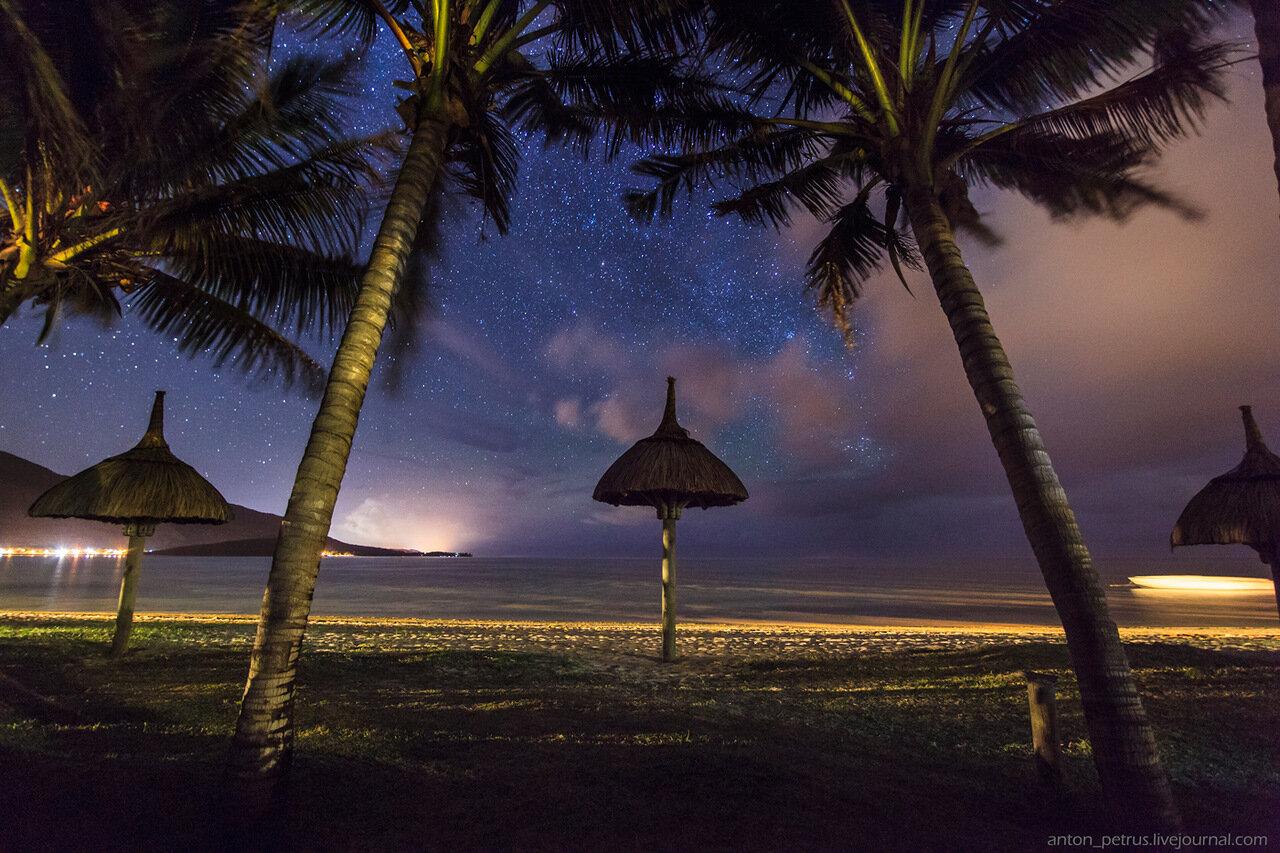 Маврикий звездное небо