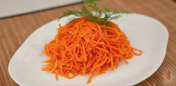 Корейская морковка своими руками