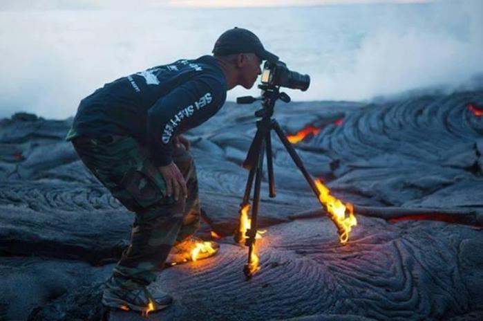 На что готовы смелые фотографы ради хорошего кадра 0 146ac8 cf6e413b orig