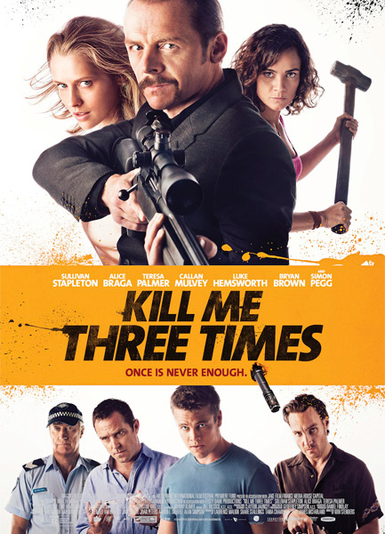 ���� ���� ��� ���� / Kill Me Three Times (2014) WEB-DLRip / WEB-DL 720p
