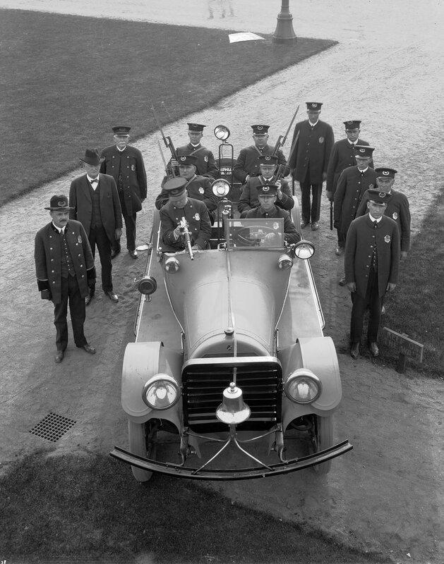 Motor Bandit Chaser, Denver, Colorado, 1921 March.